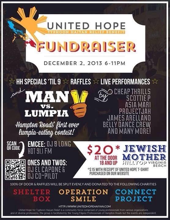 Typhoon Haiyan fundraising