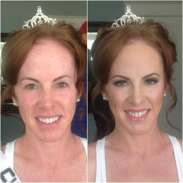 Nashville Makeup Artist: Nicole and Scott Fentress Virginia Beach Wedding